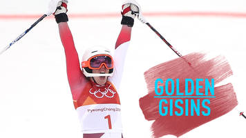Winter Olympics: Michelle Gisin wins gold in women's alpine combined