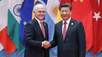 australia's close ties to china weaken in trump era