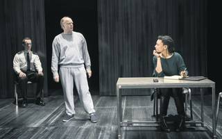 frozen at the theatre royal is a chilling examination of a criminal mind