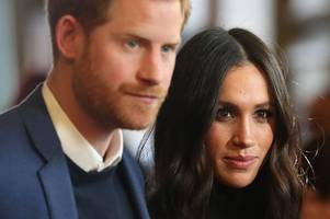 Meghan Markle and Prince Harry in anthrax alert as 'letter containing white powder sent to couple at Kensington Palace'