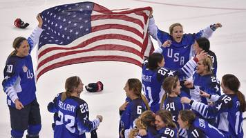 Winter Olympics: USA beat Canada on penalties to win women's ice hockey gold