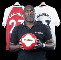 Arsenal Invincible Sol Campbell claims he's 'one of the greatest minds in football'