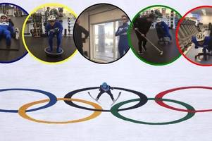 comedy gold as scots gym spoofs winter olympics in hilarious video