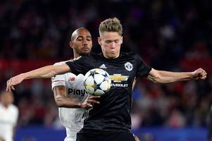 manchester united starlet scott mctominay reveals the enemy he conquered in sevilla clash