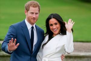 mysterious substance sent to prince harry and meghan markle treated as racist hate crime