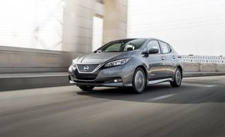 California King: All-New Nissan Leaf Tested!