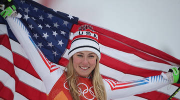 mikaela shiffrin's olympics will be remembered for a gold and a silver, not hopes for more