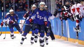 USA Wins First Olympic Hockey Gold Medal in 20 Years in Overtime Thriller vs. Canada