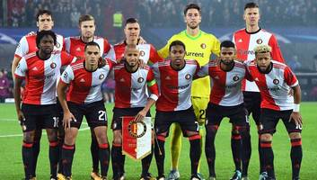 video: feyenoord pair have to be separated by teammates after coming to blows during training match