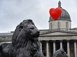 tour of love hearts over london landmarks comes to an end