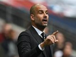 the heat is on pep guardiola just as much as arsene wenger