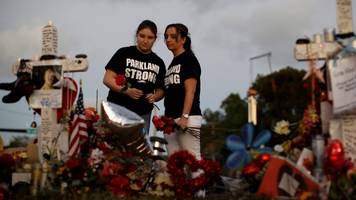 Florida school shooting: Armed officer 'did not confront killer'