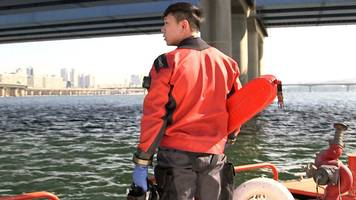 On patrol with South Korea's suicide river rescue team