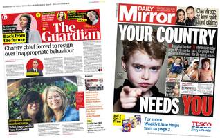 the papers: charity chief quits and transplant plea