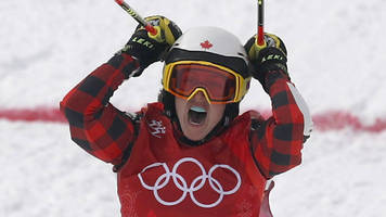 Winter Olympics: Kelsey Serwa wins women's ski cross gold