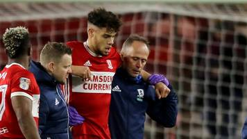 middlesbrough striker gestede out for the season