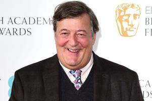 Stephen Fry reveals he is battling prostate cancer in shock announcement
