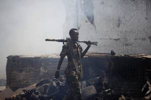 18 Dead After 2 Blasts, Gunfire Rock Somalia's Capital