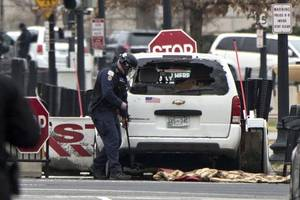Driver Rams Security Barrier Near White House