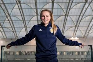 dunblane football star fiona brown loving life in sweden's top flight