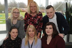 Four Wishaw students take lives in new direction by following career in nursing