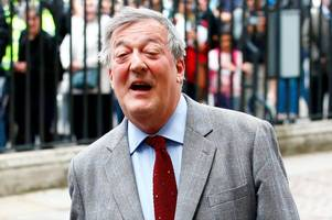 stephen fry reveals he has been diagnosed with prostate cancer
