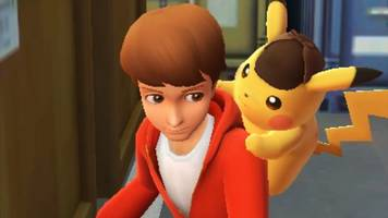 detective pikachu looks like one of the weirdest pokémon games ever