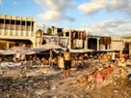 real haiti scandal is that victims are still in squalor