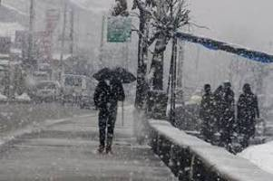 Light rain, snowfall in Jammu and Kashmir