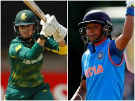 3rd t20: indian men's, women's to take on south africa today