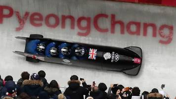 winter olympics: 'any chance of gb winning a medal are gone' - lamin dees struggles on first run