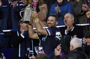Scotland 25 England 13 as hosts secure historic Six Nations win against the Auld Enemy