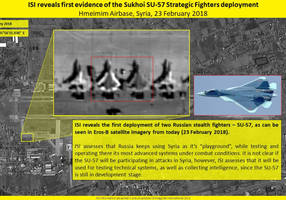 Stealth Russian fighter jets deployed to Syria