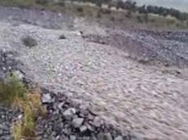 incredible video shows river of rocks in new zealand
