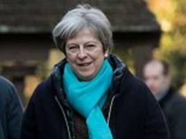 may warned by ministers she could be toppled from no10