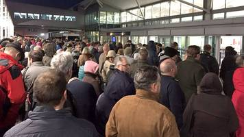 bristol airport evacuated after false alarm