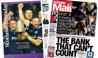 Scotland's papers: Calcutta joy and 'The bank that can't count'