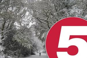 Kent weather: Five day forecast as county set for '15cm of snow' and temperatures of -8C