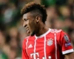 coman out for 'several weeks' after ankle surgery