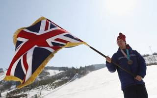 team gb winter olympians are an inspiration, says uk sport
