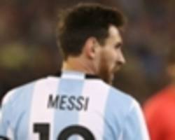 queiroz: messi should be banned until fifa proves he is human!