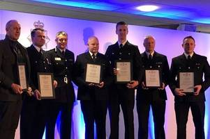 courage and selflessness of hero rescuers in fatal a180 crash commended by chief constable at awards ceremony