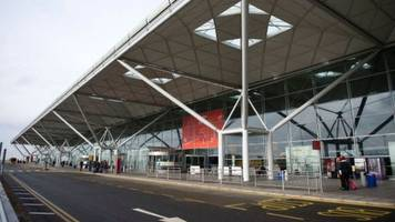 counter terror police arrest man at stansted airport