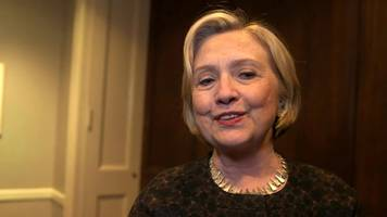 hillary clinton st david's day greeting to wales