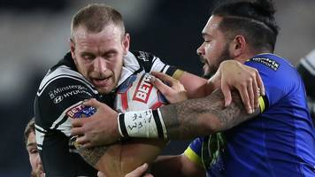 two sent off as hull fc beat warrington
