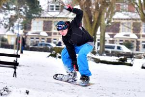 how bristol re-created the winter olympics during storm emma snowfall