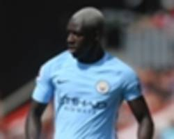 mendy back in manchester city training