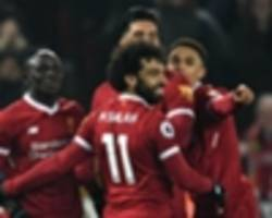 riyad mahrez, mo salah and the goal pressure index team of the week