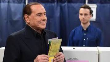 berlusconi's right-wing coalition ahead in italy vote