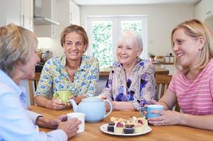 fancy sharing your experiences of the menopause over coffee and cake?